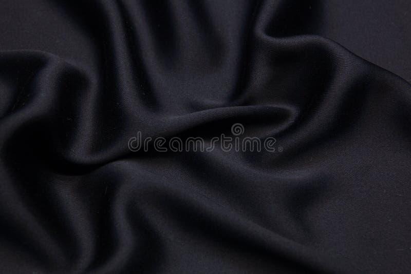 Fond onduleux de texture de plan rapproché de tissu images libres de droits