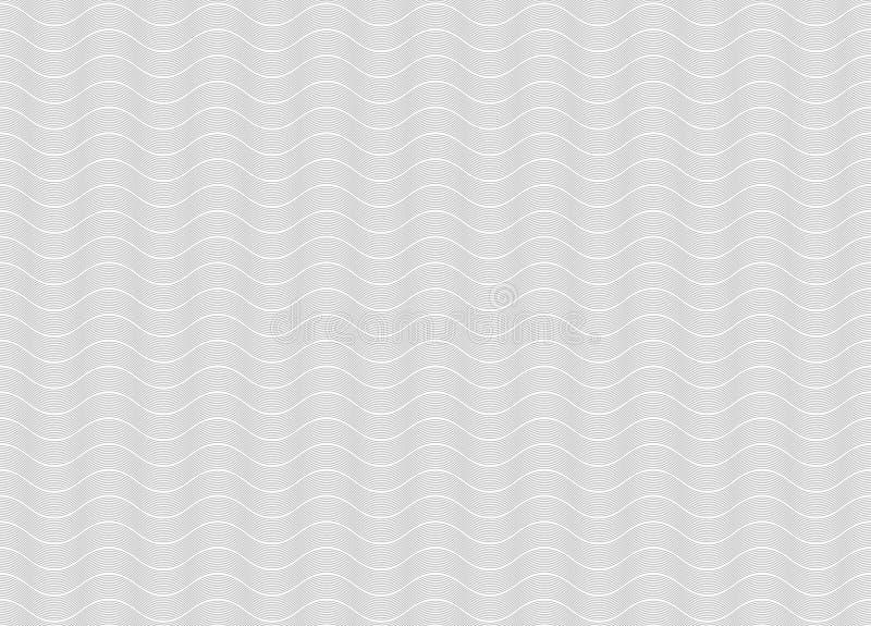 Fond onduleux graphique clair de vecteur illustration stock