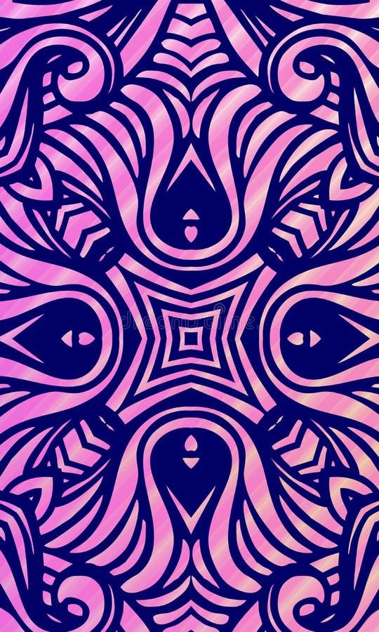 Fond onduleux ombragé multicolore de vecteur abstrait avec des bulles, papier peint, illustration de vecteur illustration libre de droits