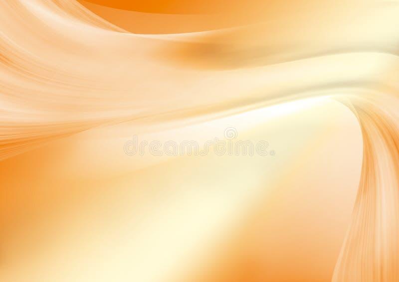 Fond orange illustration de vecteur