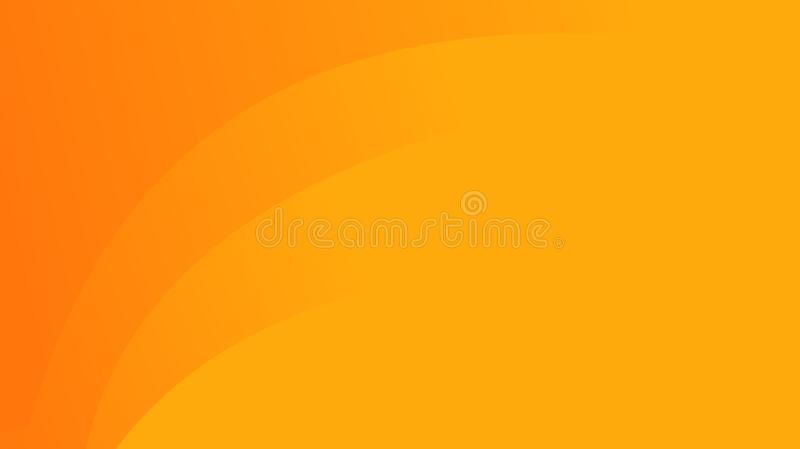 Fond orange abstrait illustration stock