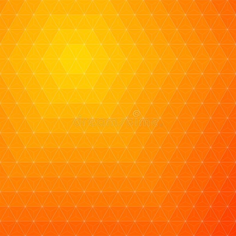 Fond orange abstrait photos stock