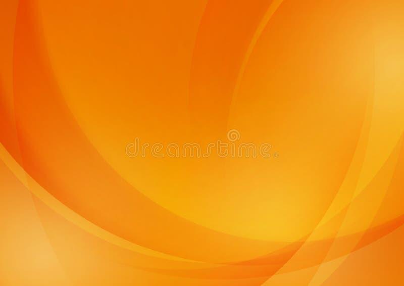 Fond orange abstrait pour la conception illustration libre de droits