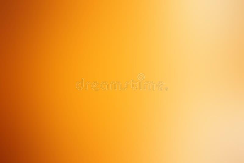Fond orange-clair de gradient, papier peint radial orange d'effet de gradient photos libres de droits
