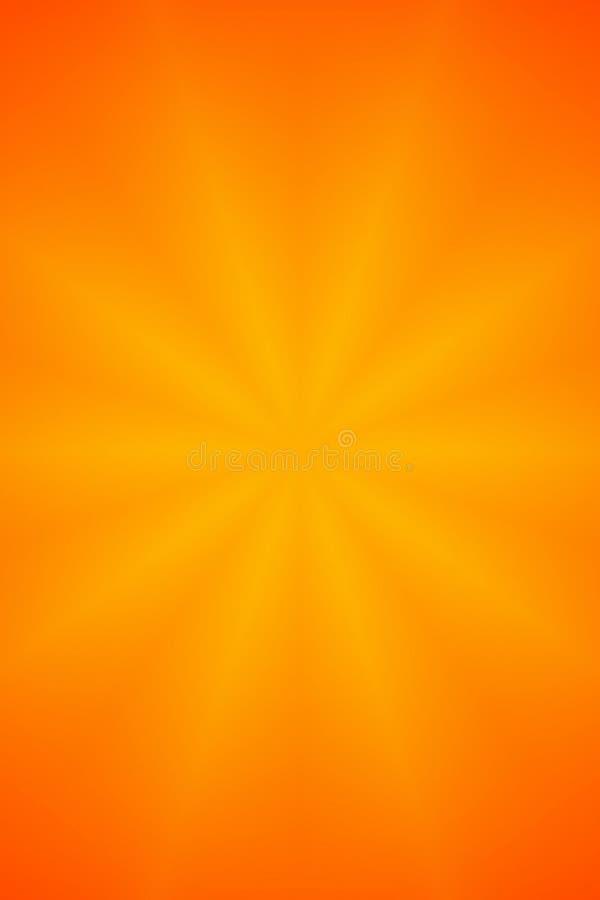 Fond orange d'abrégé sur étoile illustration libre de droits