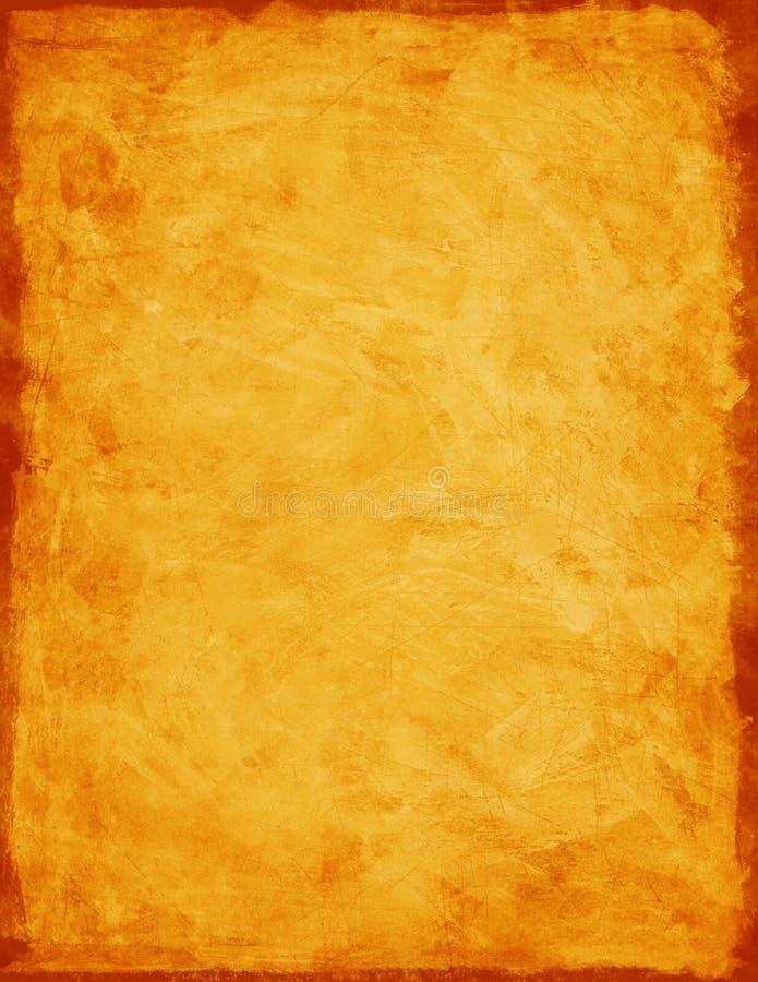 Fond orange de texture photographie stock