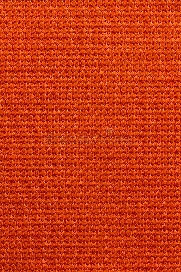 Fond orange de texture de tissu image stock