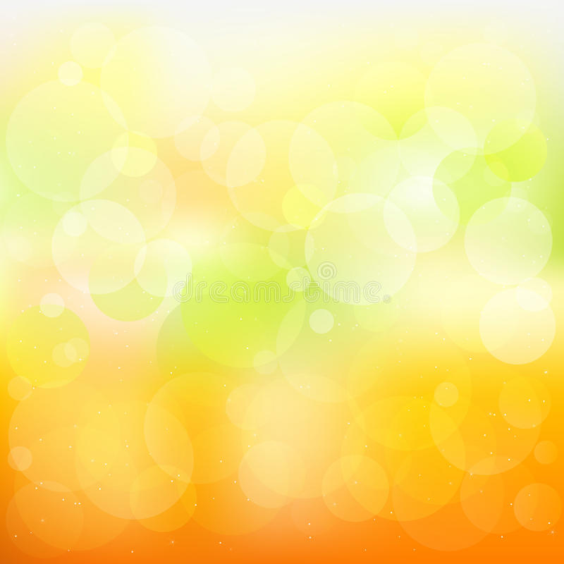 Fond orange et jaune abstrait illustration stock