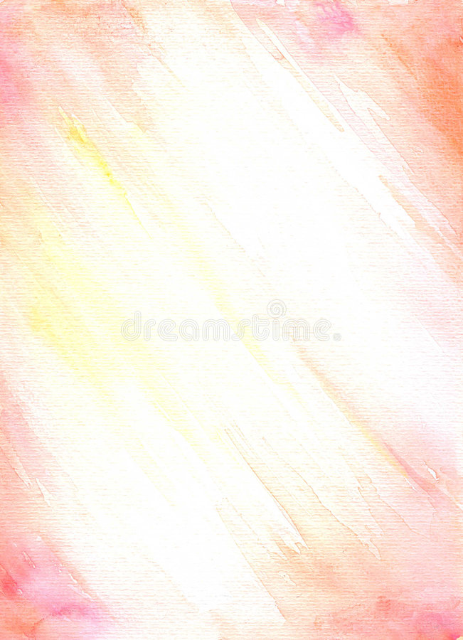 Fond orange et rose illustration stock