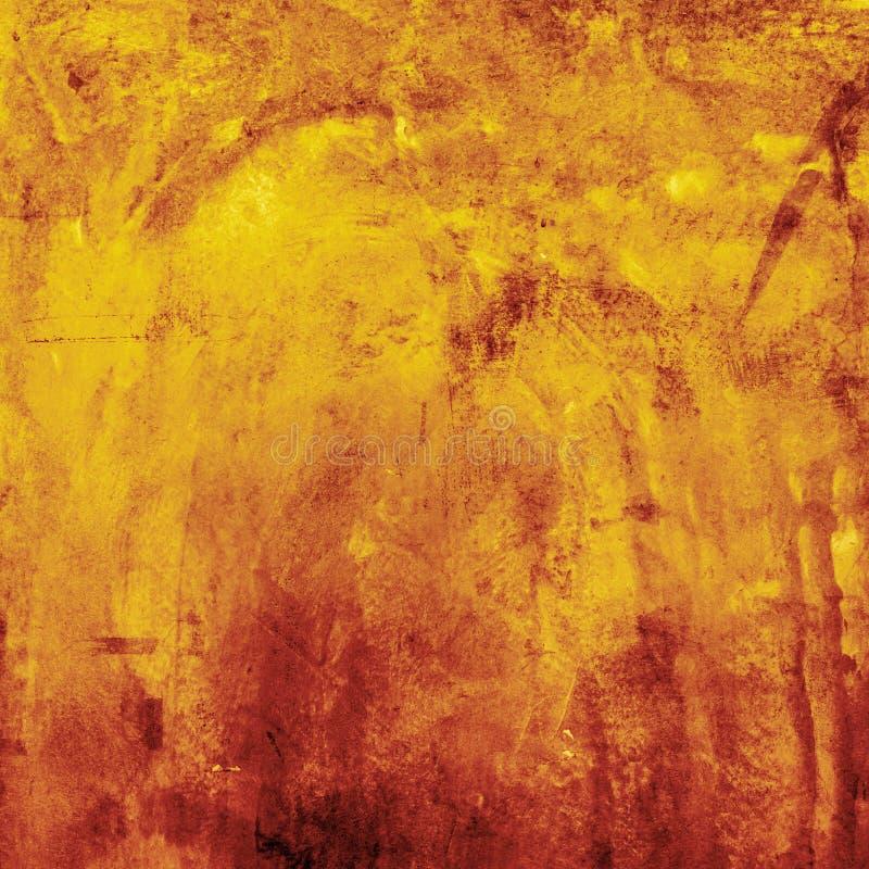 Fond orange grunge Halloween et texture de thanksgiving photo stock