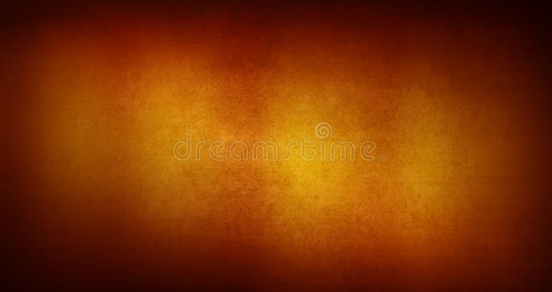 Fond orange vide de surface de texture illustration stock