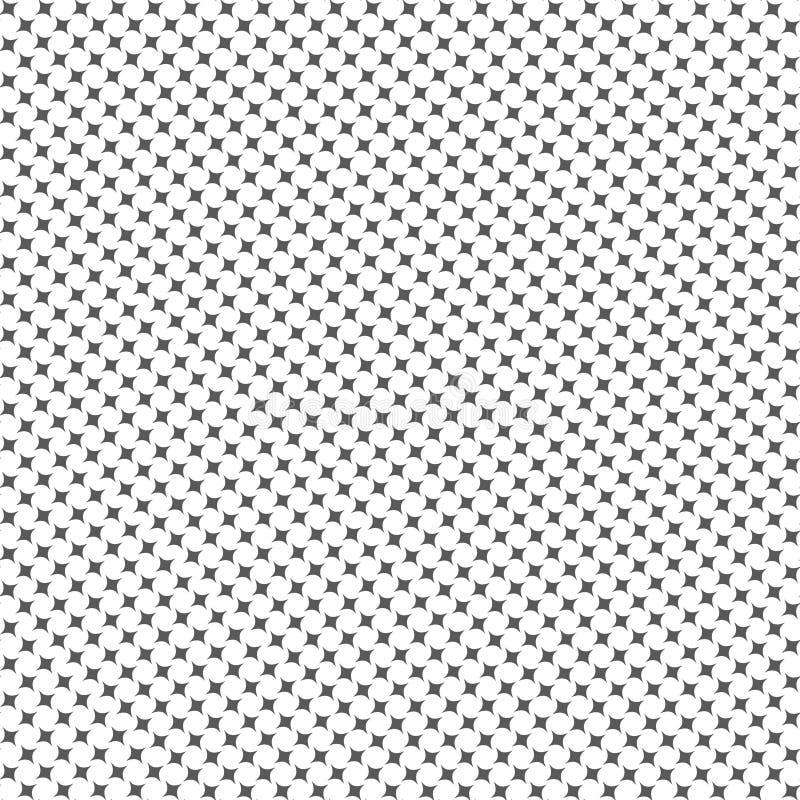 Fond organique de vecteur de forme de modèle sans couture illustration libre de droits
