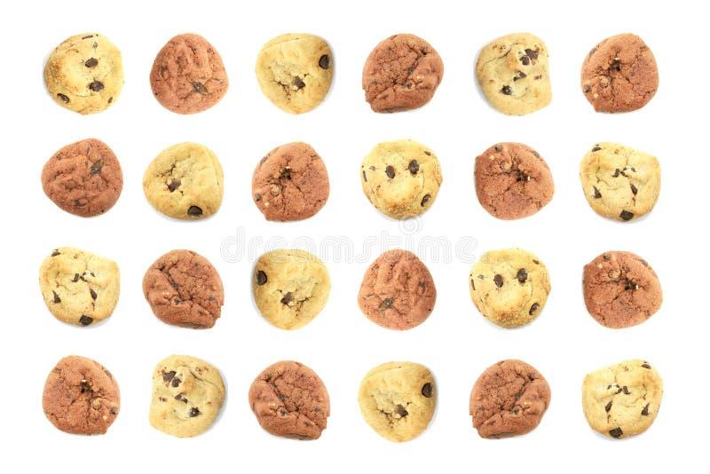 Fond orienté de biscuit d'enfants d'amusement photographie stock