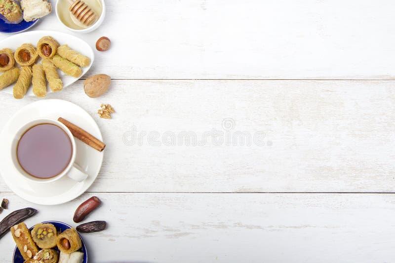 Fond oriental de bonbons photographie stock libre de droits