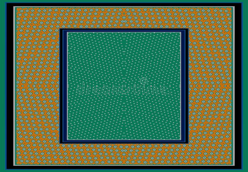 Fond ornemental abstrait d'abrégé sur modèle illustration de vecteur
