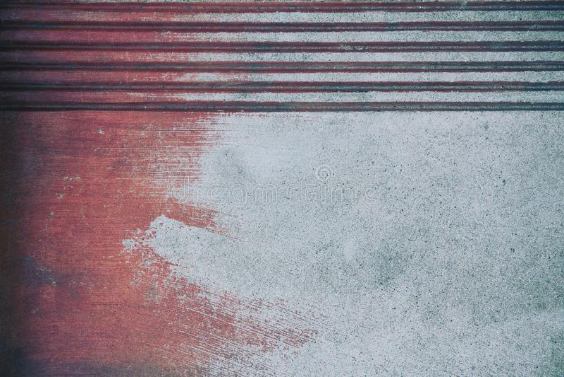 Fond ou papier peint superficiel par les agents grunge rouillé en métal photo stock