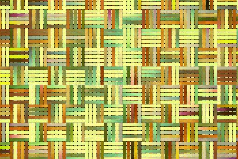 Fond ou texture abstrait pour la conception, tapis tissé par rotin photos libres de droits
