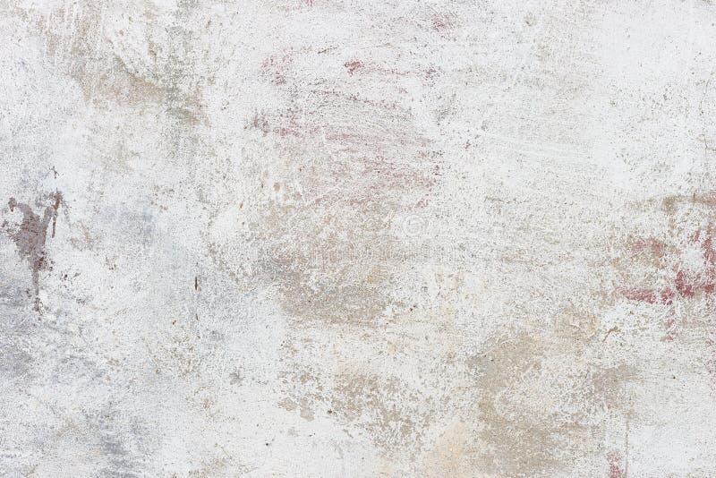 Fond ou texture blanc de mur de stuc photographie stock libre de droits