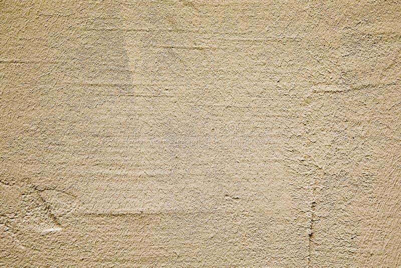 Fond ou texture de plâtre de stuc de ciment de mur de Brown images libres de droits