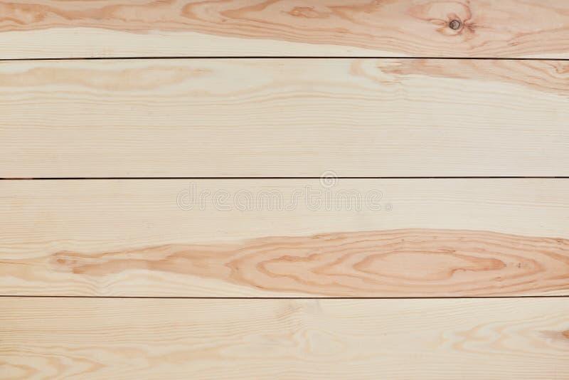 Fond ou texture en bois Surface en bois brun clair de fond de texture Vue supérieure de Tableau Mur en bois de planche Rayures ho images libres de droits