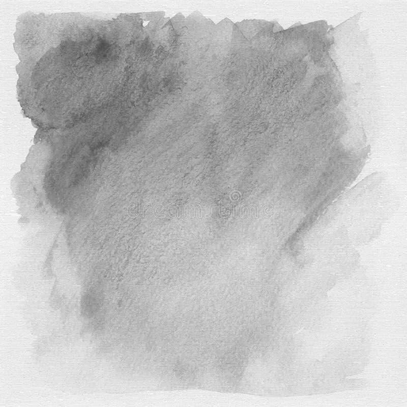 Fond ou texture grunge gris d'aquarelle illustration libre de droits