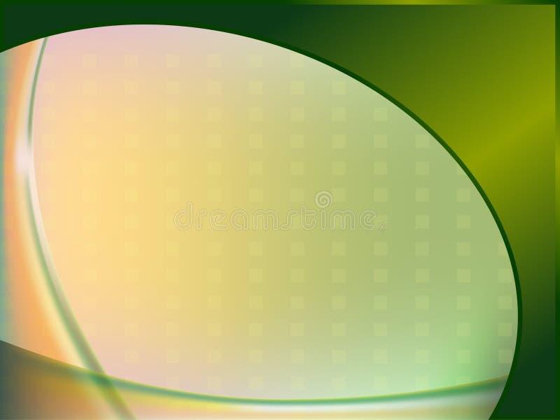 Fond ovale illustration de vecteur