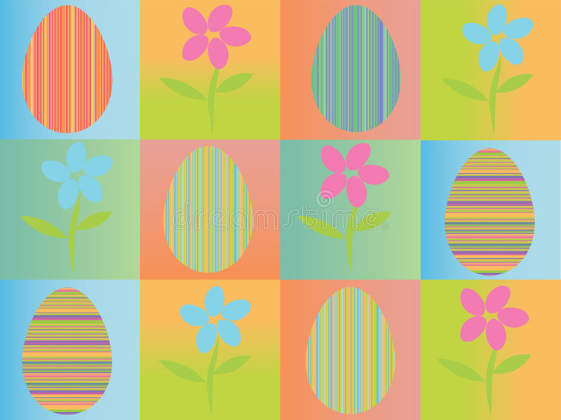 Download Fond Pâques sans joint illustration de vecteur. Illustration du automne - 8665824