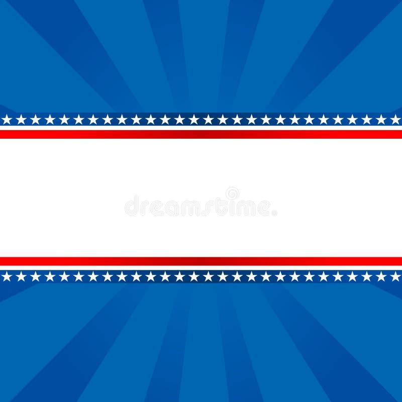 Fond patriotique illustration stock
