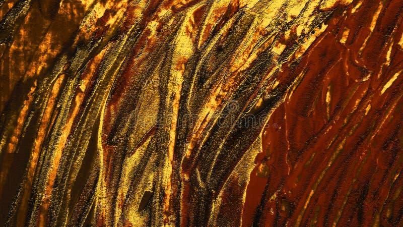 Fond peint à la main d'abrégé sur cru Courses de peinture acryliques sur la toile Art moderne photos stock