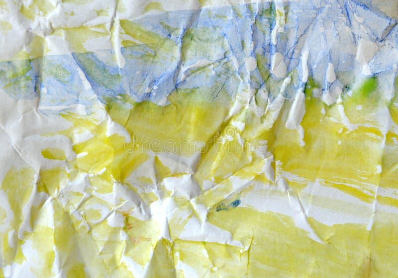 Fond peint à la main d'aquarelle Lavage d'aquarelle photographie stock libre de droits