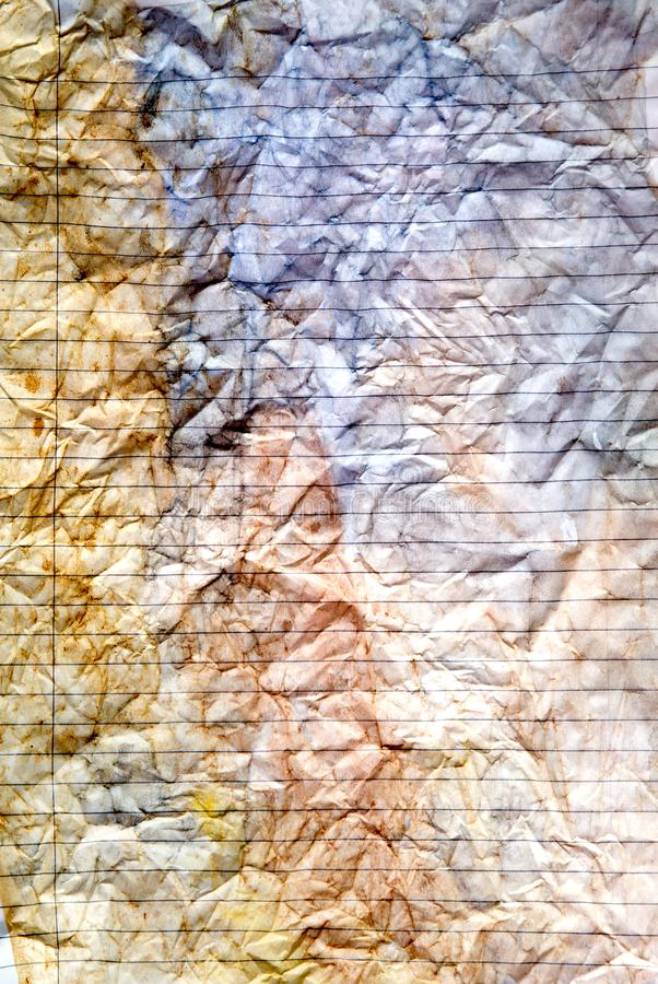 Fond peint à la main pour aquarelle abstrait Les taches pour aquarelle, lavage et éclabousse de l'espace pour le texte photo libre de droits
