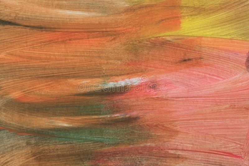 Fond peint à la main texturisé artistique abstrait sur la toile photo stock