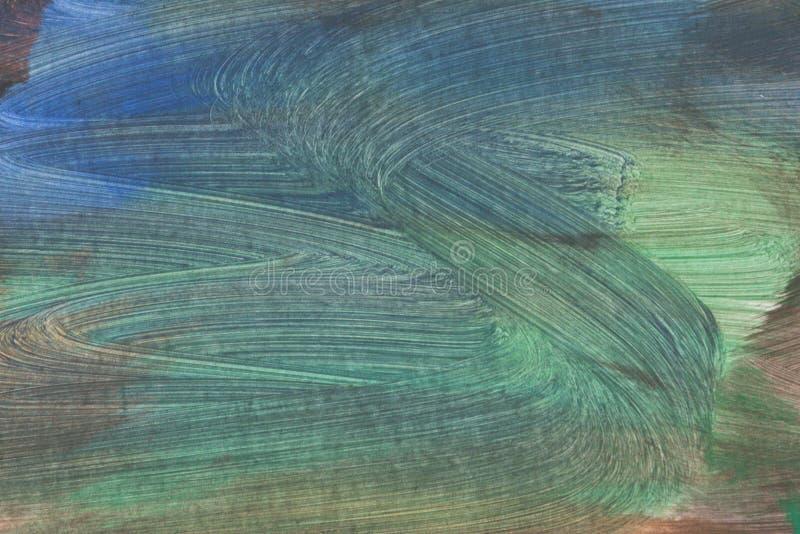 Fond peint à la main texturisé artistique abstrait sur la toile images libres de droits