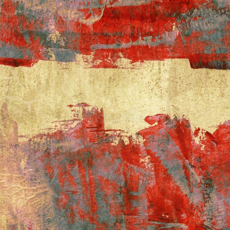 Fond peint coloré image stock