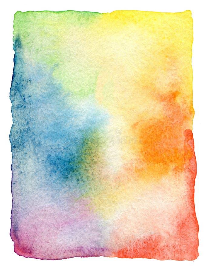 Fond peint par aquarelle abstraite image stock