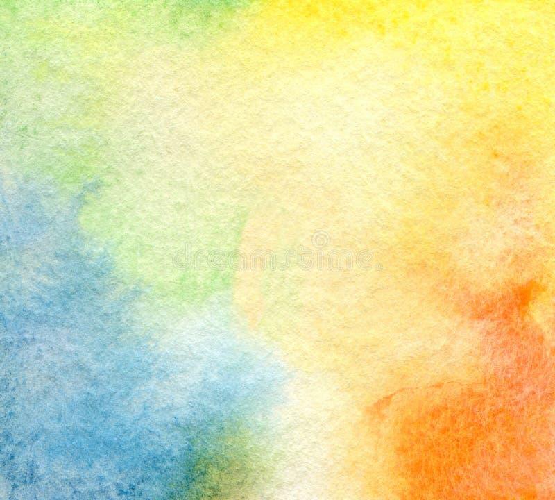 Fond peint par aquarelle abstraite photos libres de droits