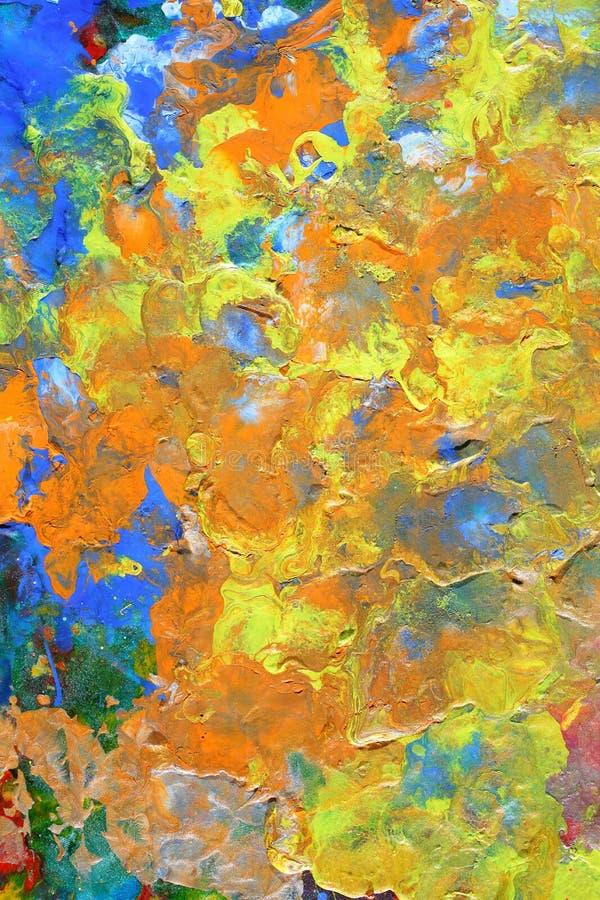 Fond peint par résumé photo libre de droits