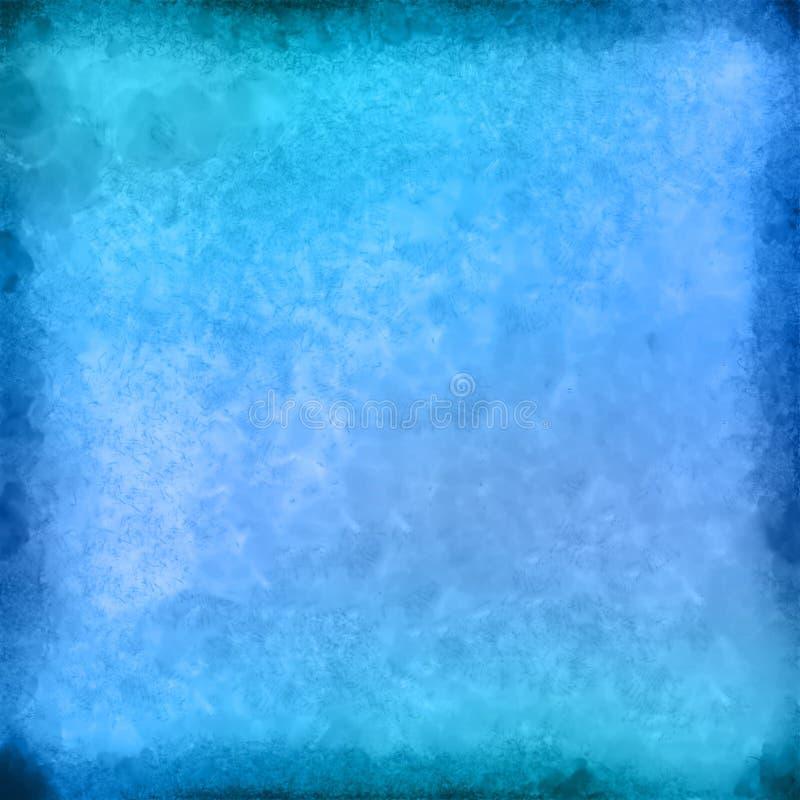 Fond peint par tache abstraite d'aquarelle illustration stock