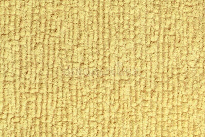 Fond pelucheux jaune-clair de tissu mou et laineux Texture de plan rapproché de textile photos libres de droits