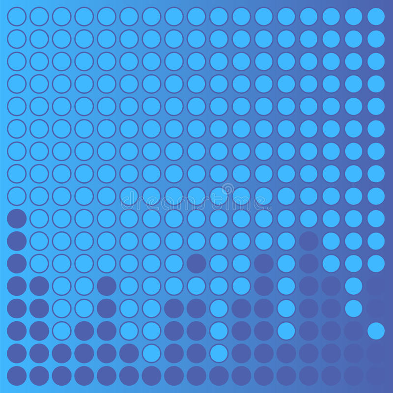 Fond pointillé illustration stock