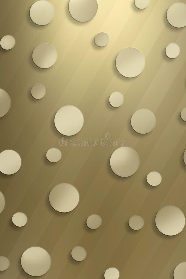 Fond pointillé génial illustration stock