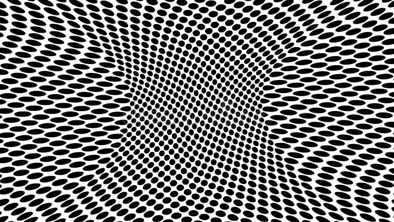 Fond pointill? abstrait moderne pour des sites Web illustration libre de droits