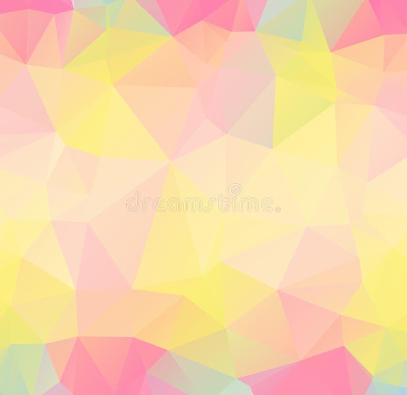 Fond polygonal abstrait de vecteur illustration de vecteur