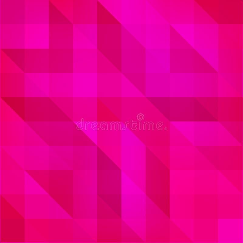 Fond polygonal texturisé abstrait Conception trouble de fond de triangle de vecteur Fond polygonal pourpre lumineux illustration de vecteur