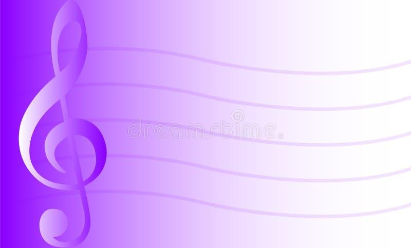 Fond/pourpre musicaux/ENV illustration libre de droits
