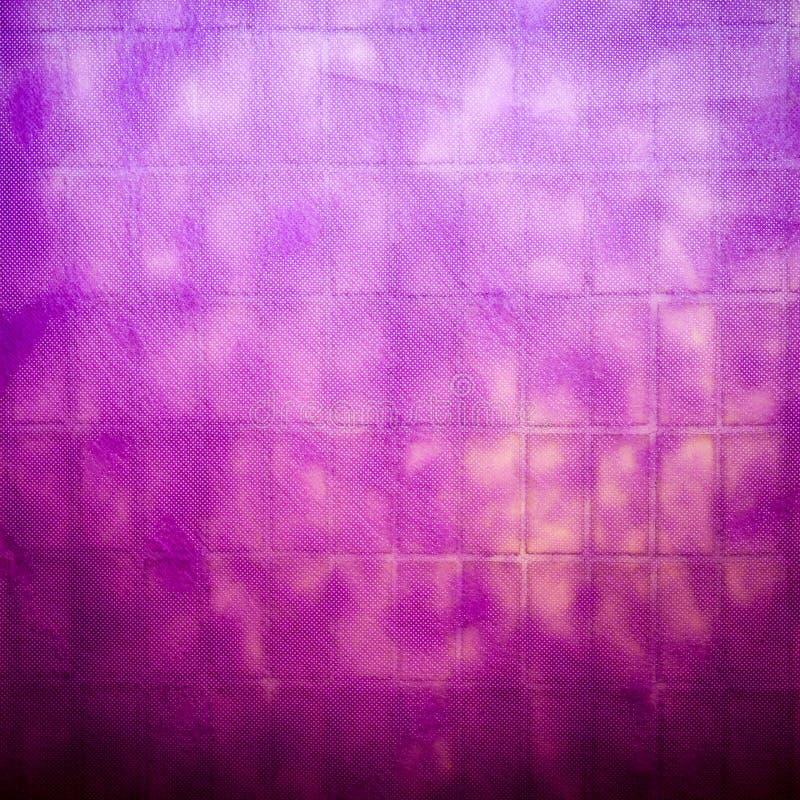 Fond pourpre ou magenta avec la texture de grunge de vignette image stock