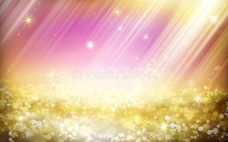 Fond rêveur de royaume des fées illustration de vecteur