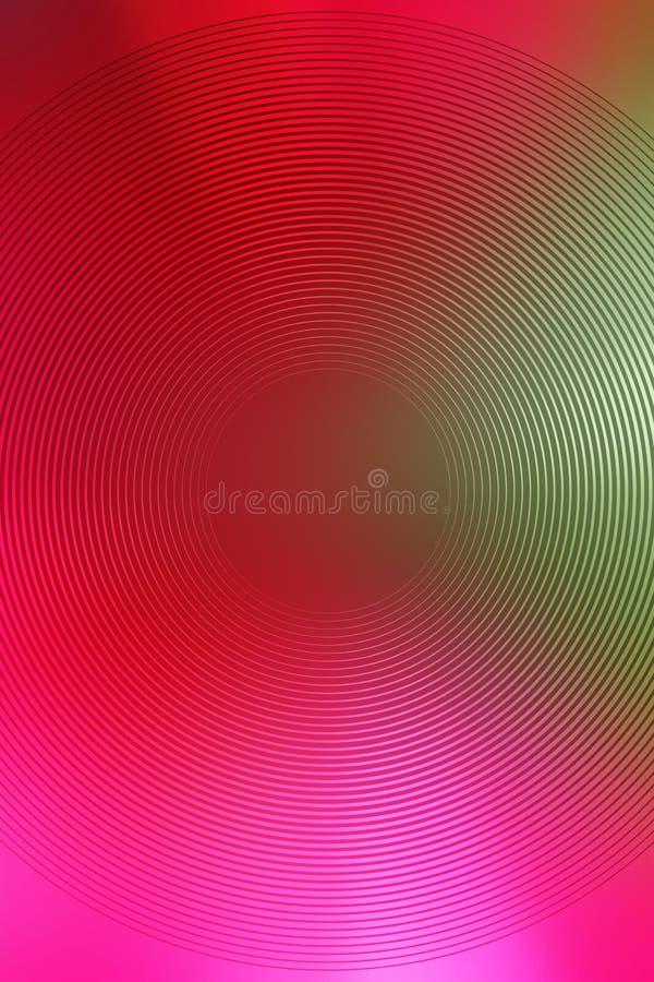 Fond radial de gradient, abr?g? sur mol doux papier peint de tache floue de purpure Rougeoyer de Purpure image stock