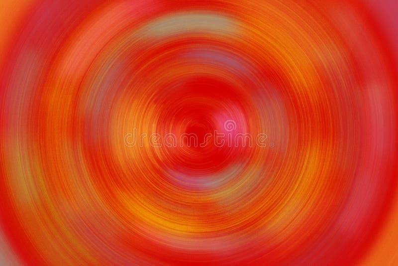 Fond radial lumineux de texture de couleur rouge et en pastel images stock