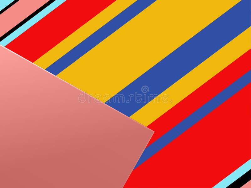 Fond rayé abstrait illustration de vecteur